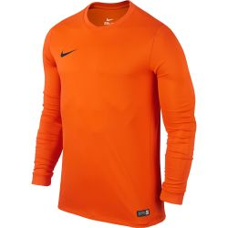 Nike Maillot Park Derby Bleu Jaune Junior